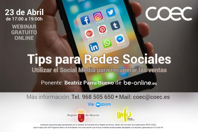 Tips para Redes Sociales