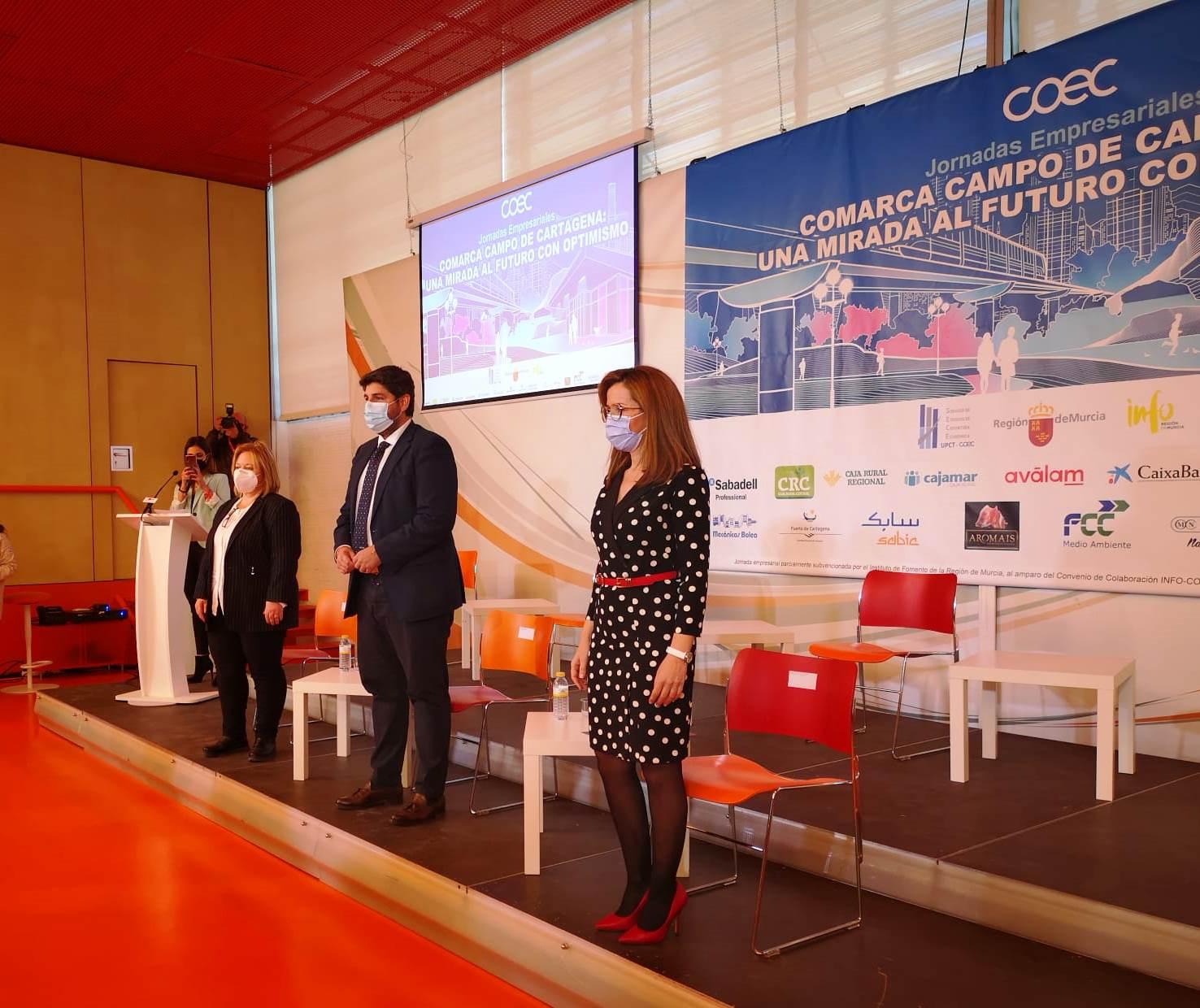 INFRAESTRUCTURAS, FORMACIÓN Y DIGITALIZACIÓN: CLAVES PARA EL FUTURO ECONÓMICO DE LA COMARCA DEL CAMPO DE CARTAGENA